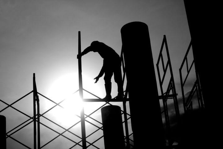 Foto van bouwvakkers bij blog bouwrecht