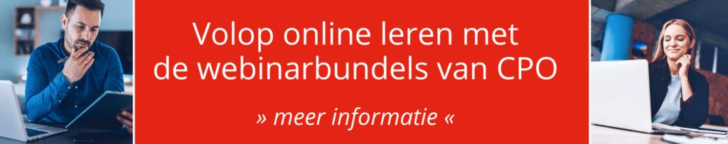 CPO webinarbundel